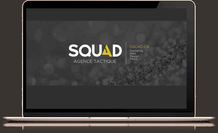 Écran portable - SQU4D