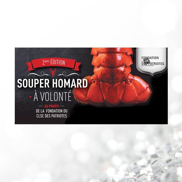 Souper homard au profit de la Fondation du CLSC des Patriotes – 2ème édition
