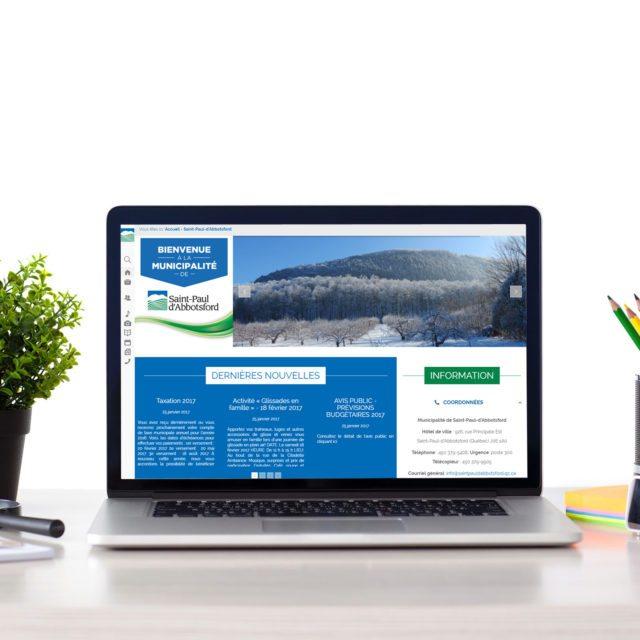 Site Web – Saint-Paul-d'Abbotsford