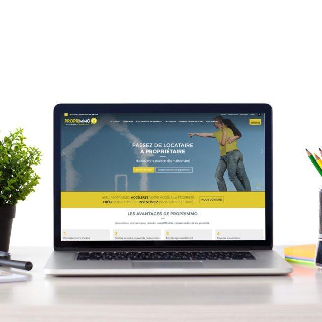 Site Web – Proprimmo