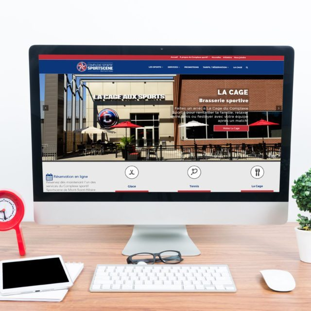 Site Web – Complexe Sportif Sportscene