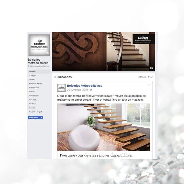 Facebook – Boiseries Métropolitaines