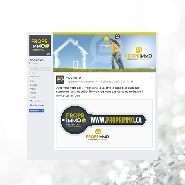 Facebook – Proprimmo