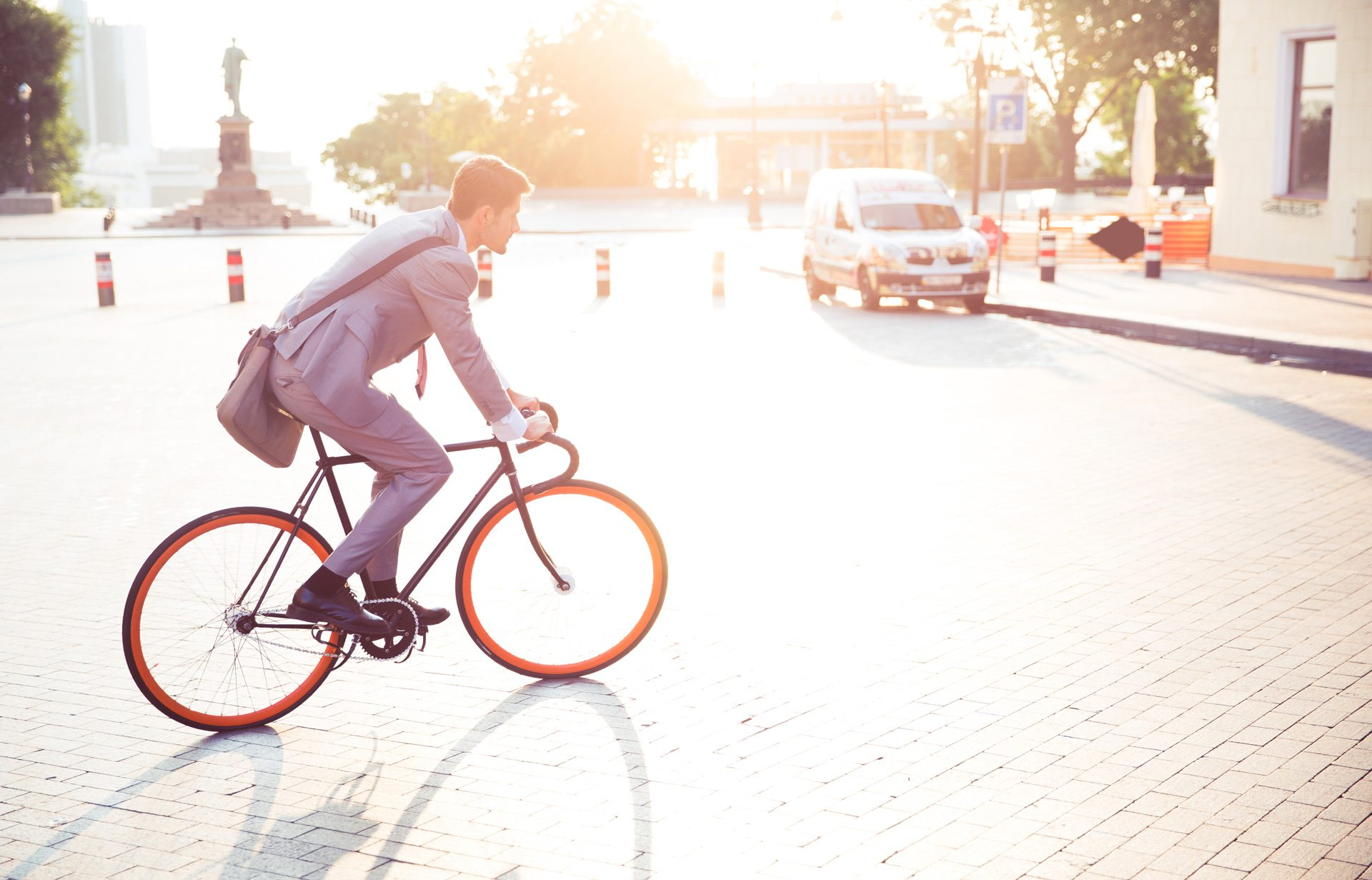 Homme Bicyclette