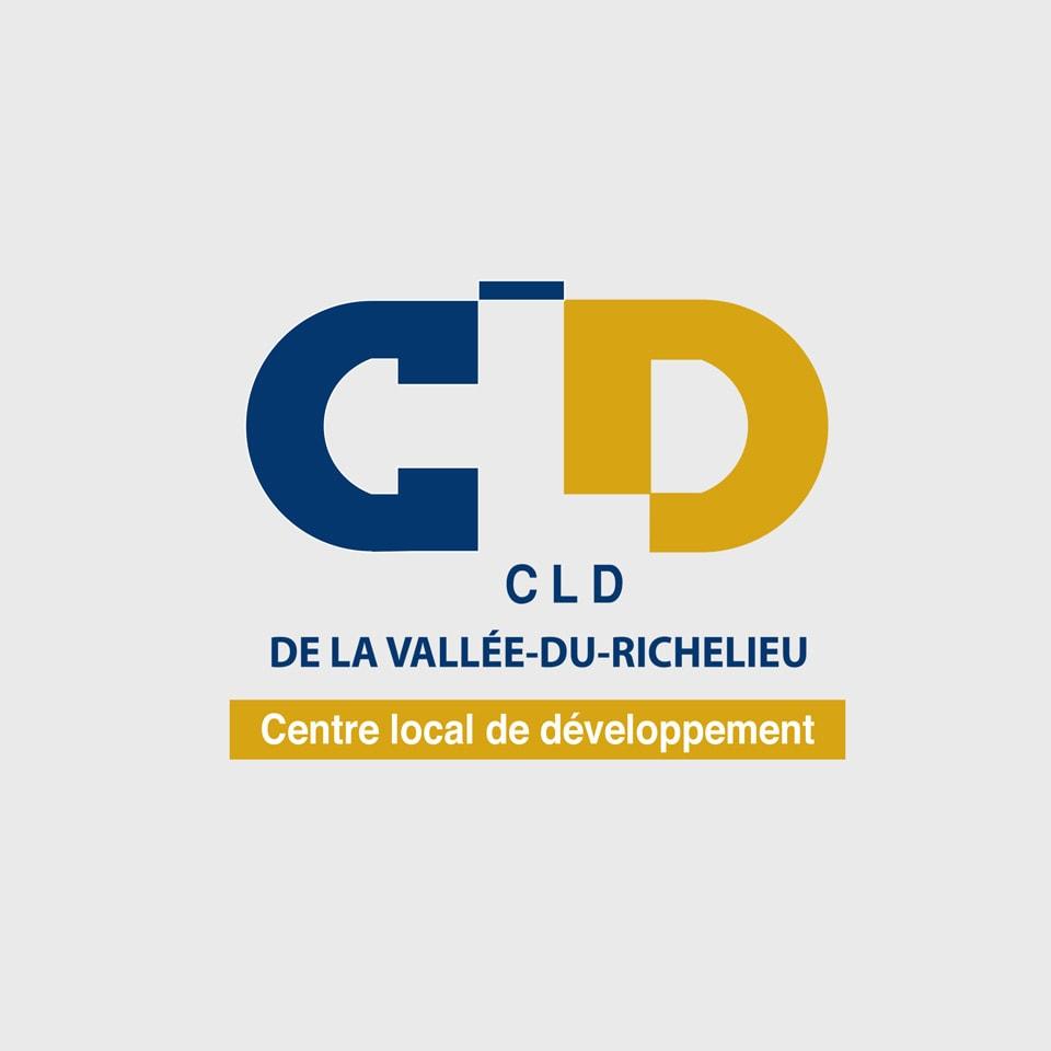 Logo CLDVR (Centre local de développement de La-Vallée-du-Richelieu)