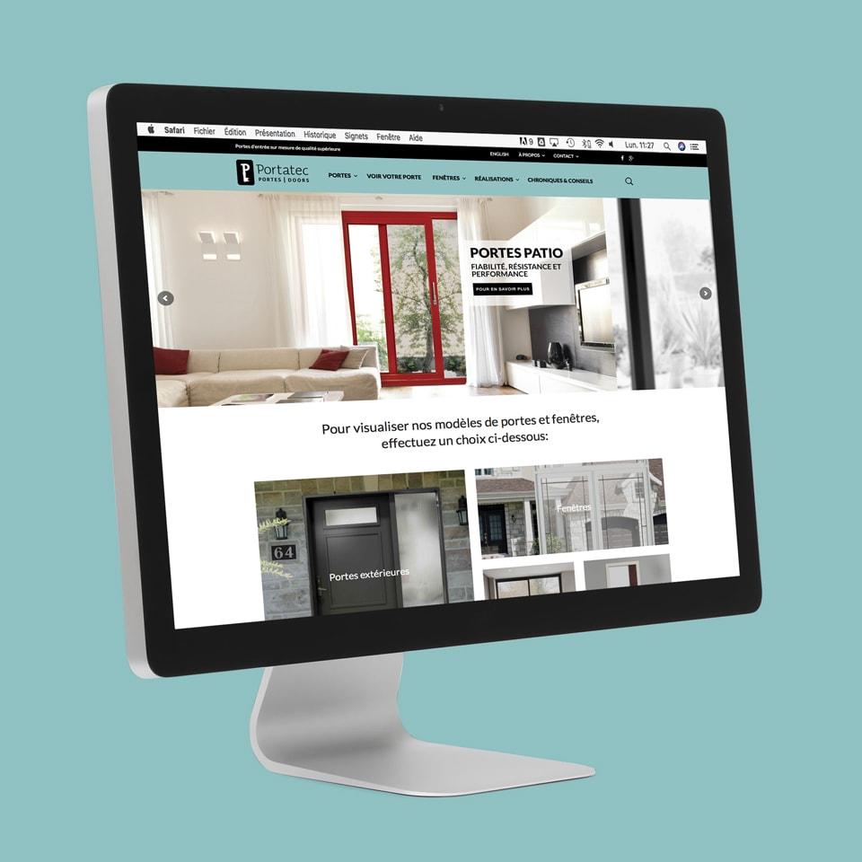 Site web Portatec