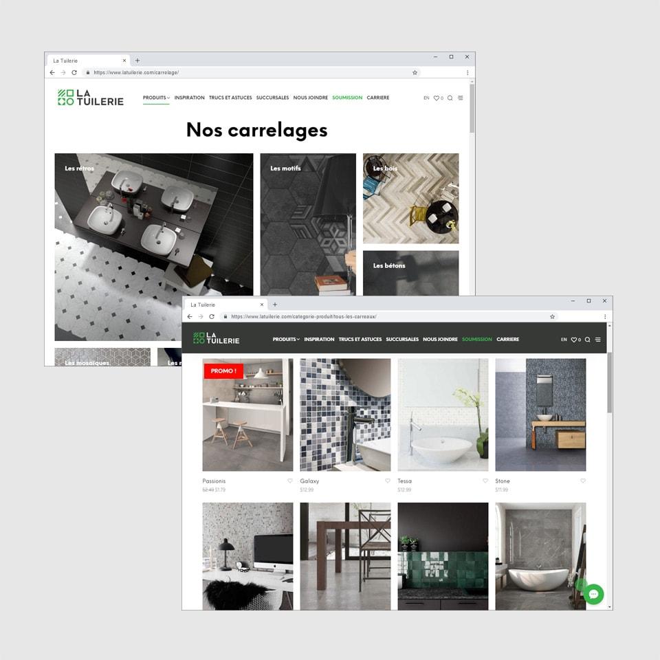 Site Web La Tuilerie