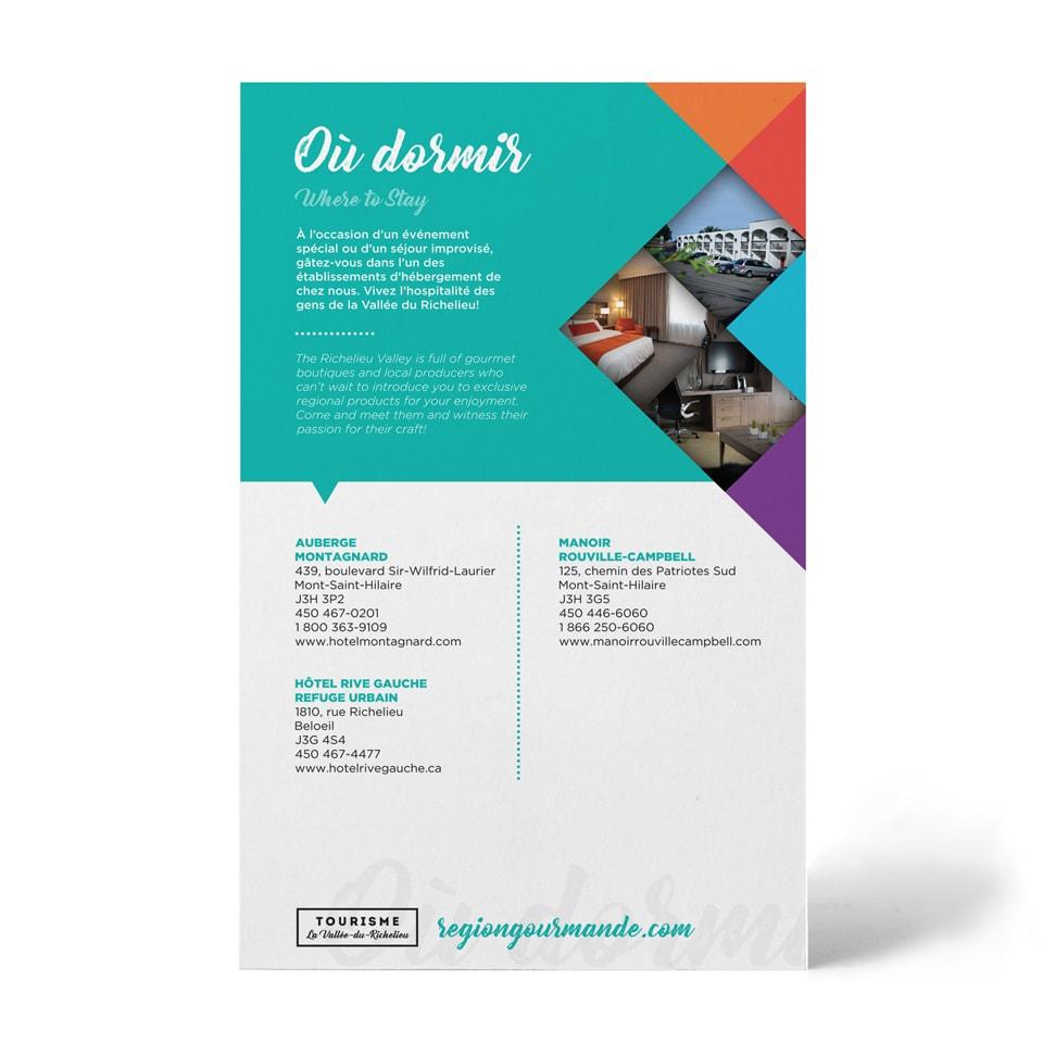 Carton Tourisme La-Vallée-du-Richelieu