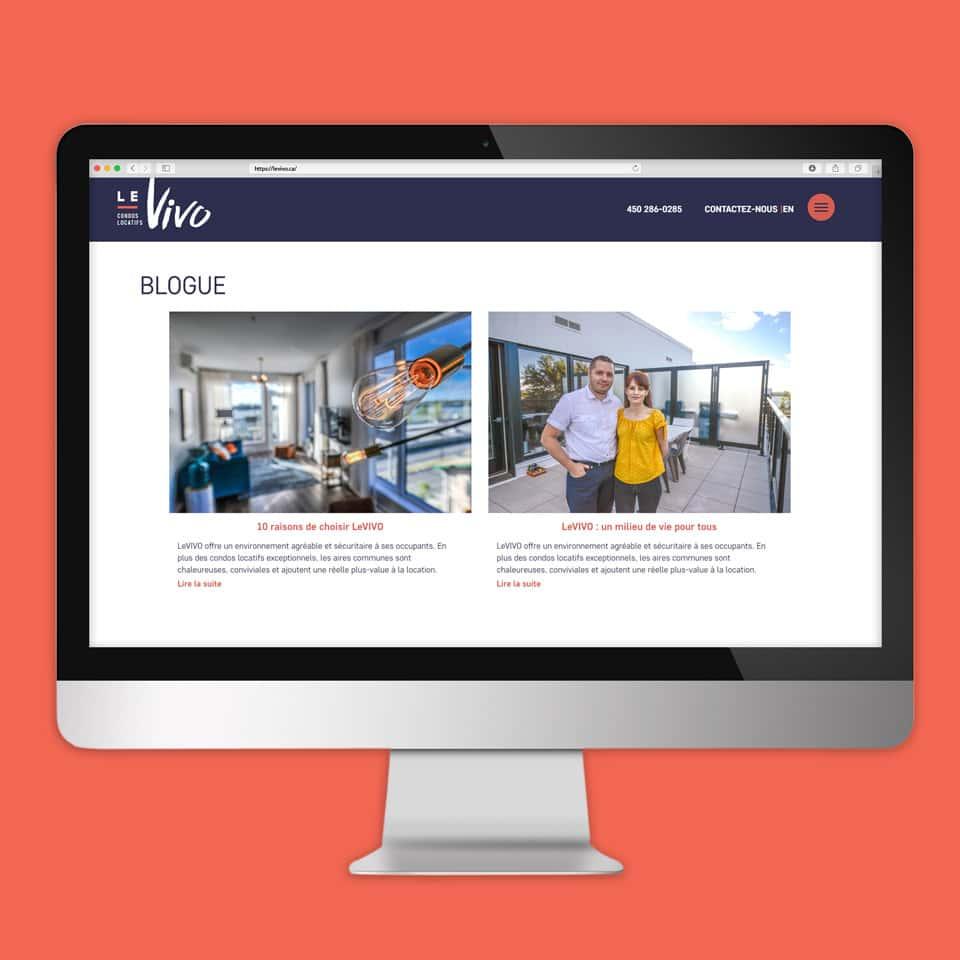 Site Web LeVIVO