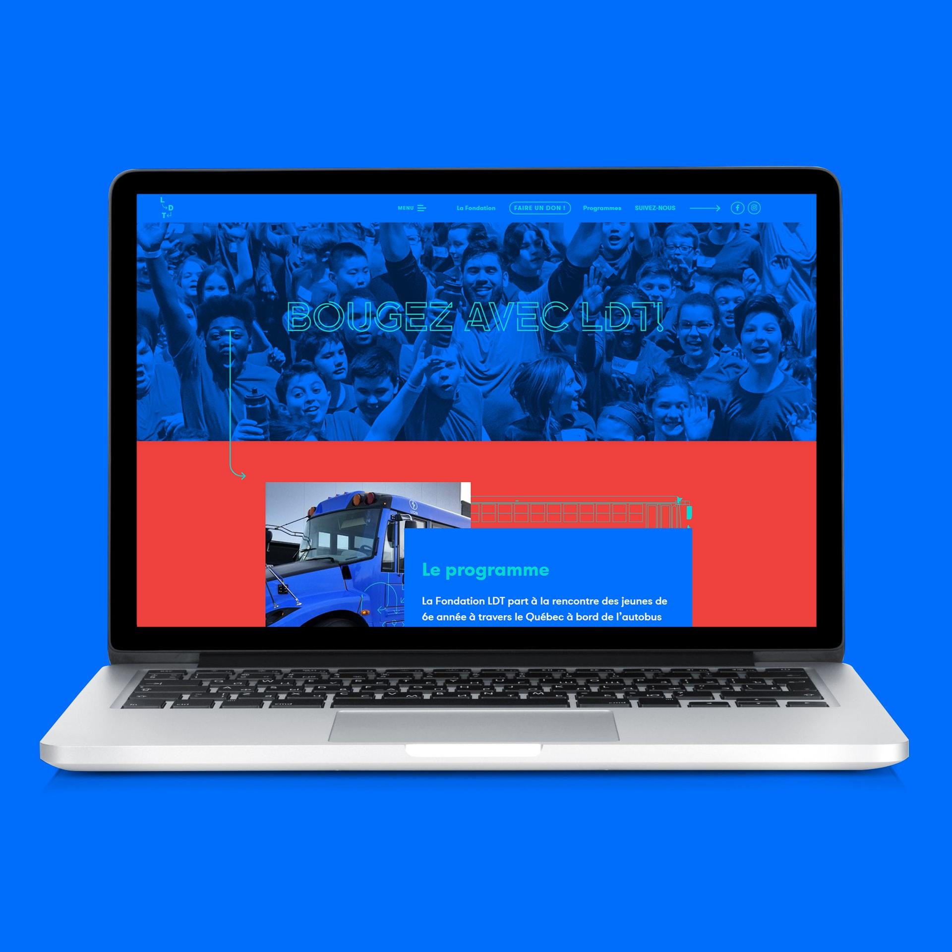 Site web LDT