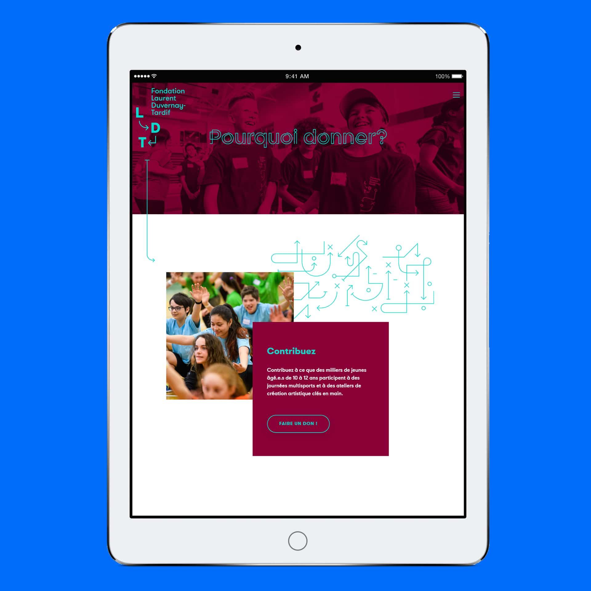 Site web tablette LDT