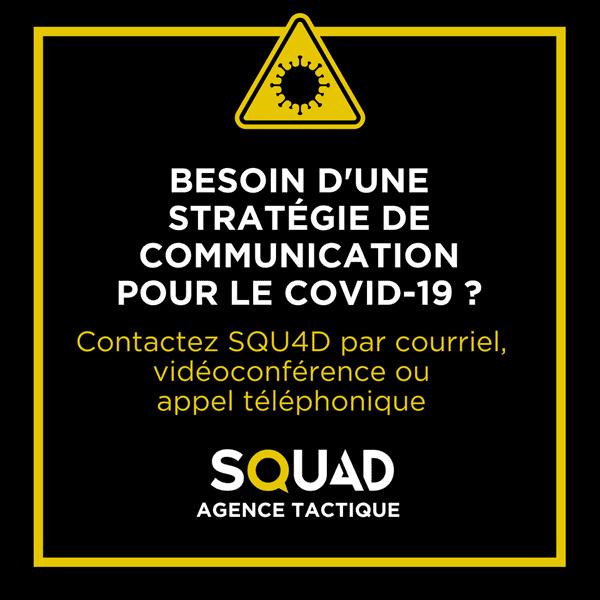 COVID-19 stratégie de communication