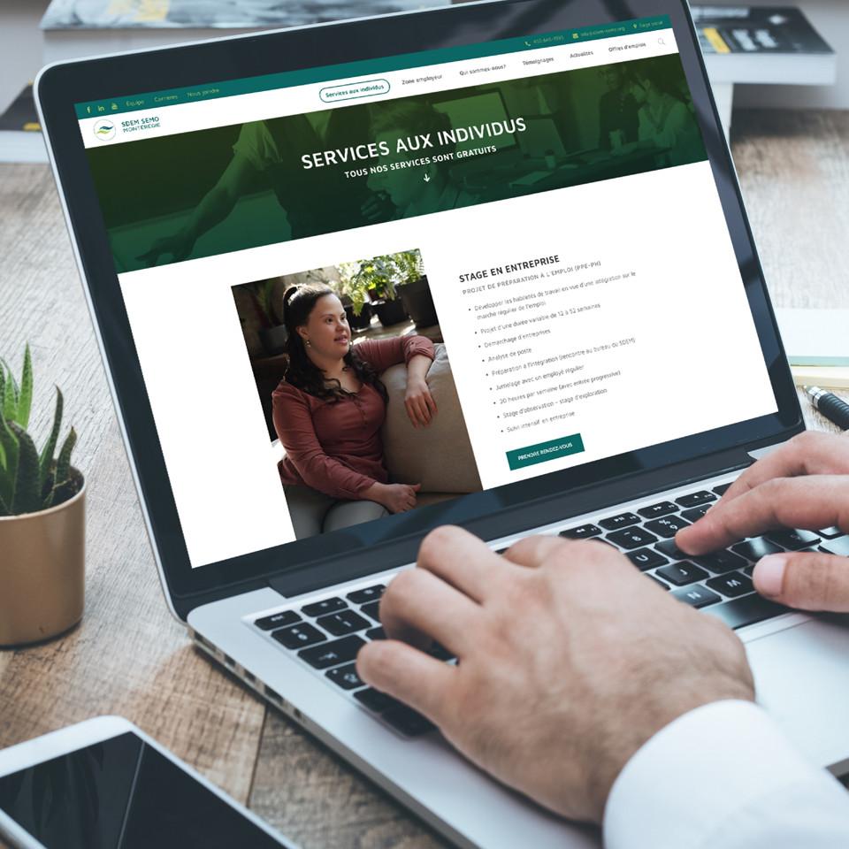 SDEM-SEMO site Web