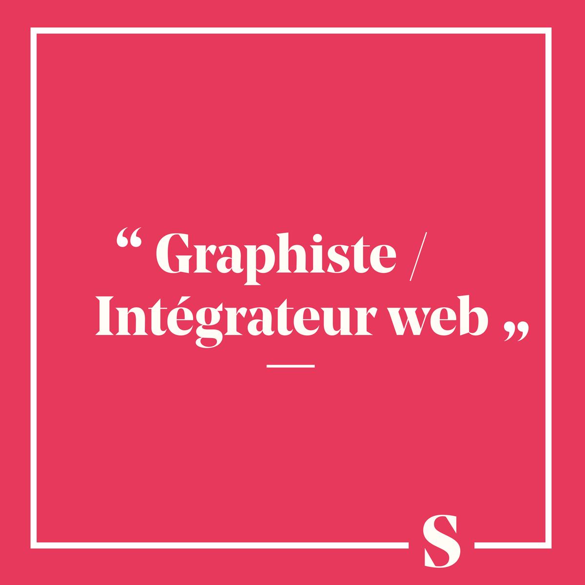 Graphiste / Intégrateur Web
